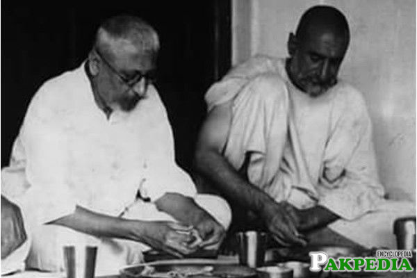 Maulana Azad and Bacha Khan
