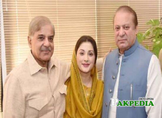 Shehbaz Sharif Family