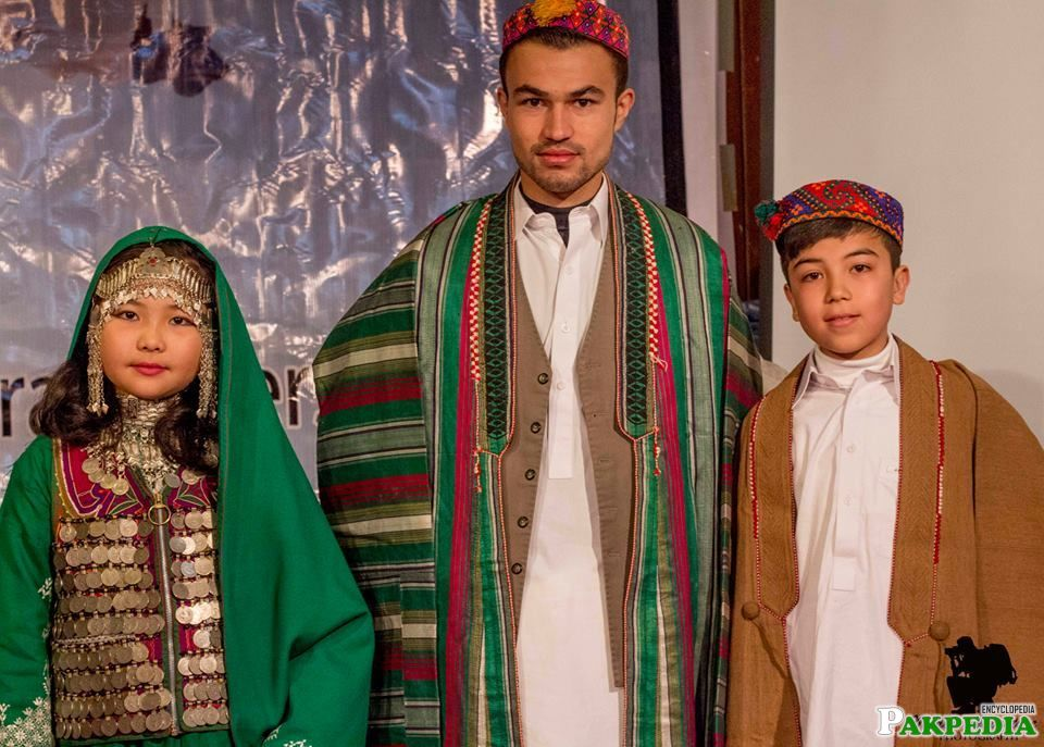 Dressed up in Traditional Hazara