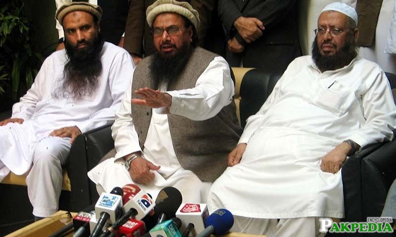Hafiz Muhammad Saeed Addressing