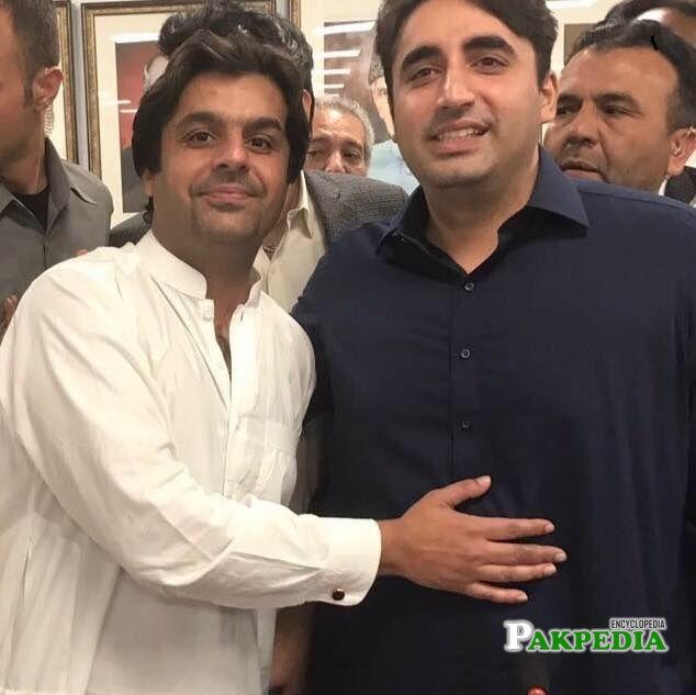 Zulfiqar Bachani with Bilawal Bhutto Zardari