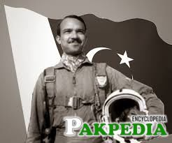 M M Alam Front the Flag
