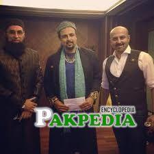 Salman Ahmad with Junaid Jamshed