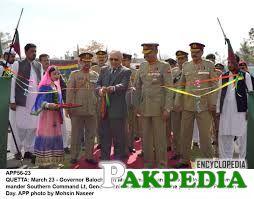 Khan Achakzai at Opening