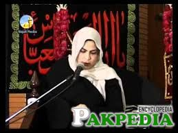 adressing in Majlis-e Hussain a.s
