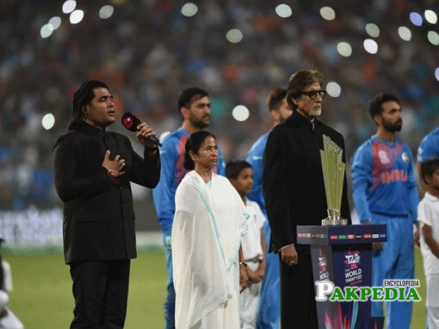Starting Before MAtch Between Pakistan and India