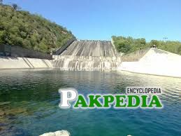 A Picture of Khanpur Dam