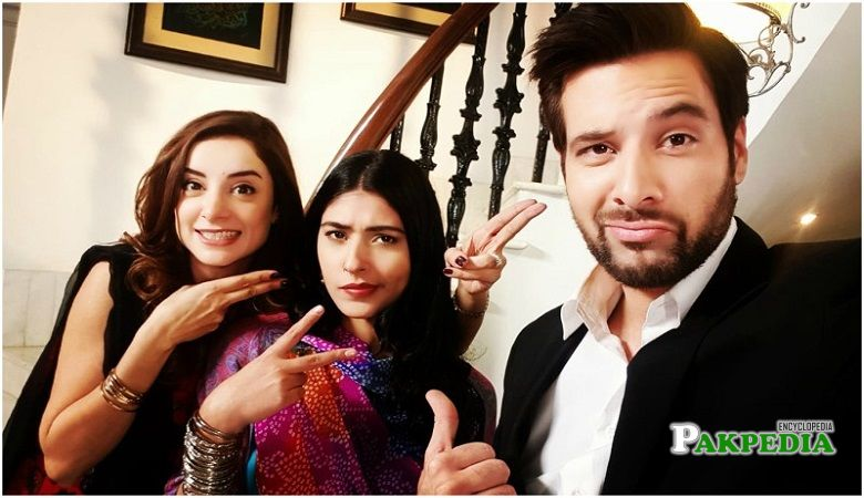 Mikaal with the cast of 'Khasara'