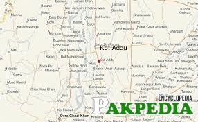 Map of Kot Adu City