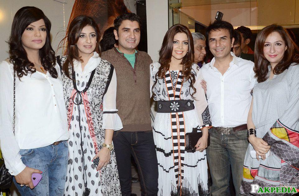 Hadiqa Kiani in Party