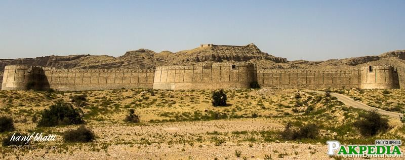 Ranikot Fort is a historical fort