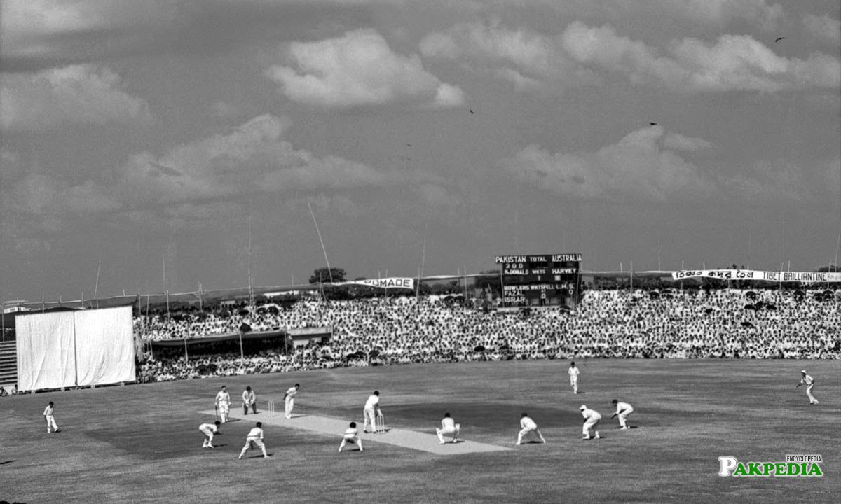 Pakistan v Australia, 1st Test, Dacca, 2nd day, November 14, 1959