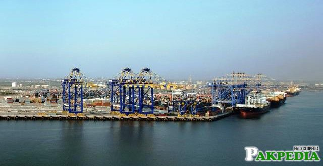 Port Qasim of Pakistan