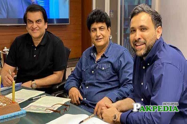 Khalil ur Rehman Qamar signed his new project