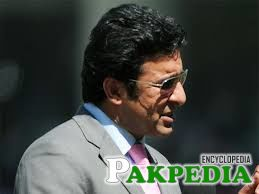 Wasim Akram taken up commentary