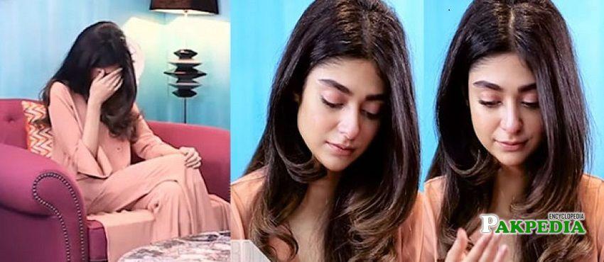 Noor Khan in Samina Pirzada show