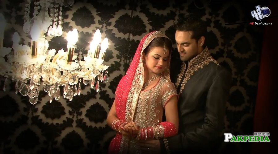 Hira hussain with her husband Adnan hussain