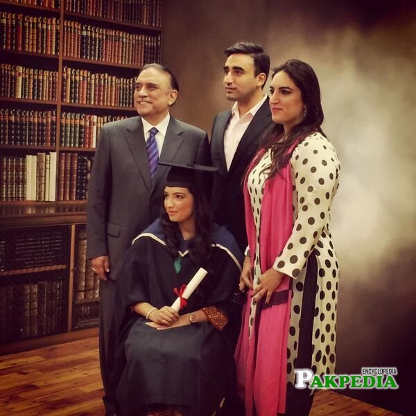 On her Convocation Day