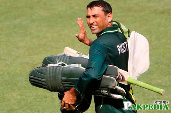 younis khan after Prectice