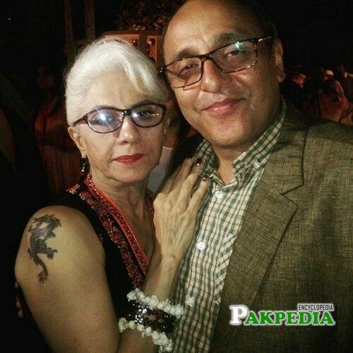 Sajid Hasan Wife