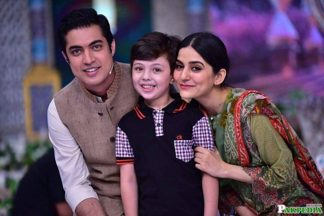 With Pehlaaj And Sanam Baloach