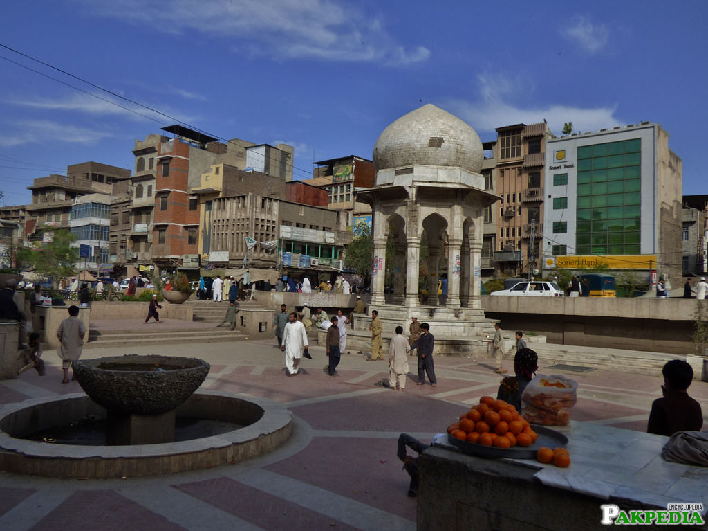 Chowk Yadgaar in Peshawar, Khyber Pakhtunkhwa