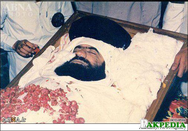Last view of shaheed allama