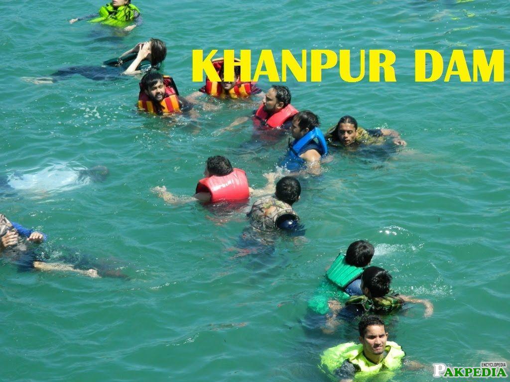 Cliff Diving at Khanpur Dam