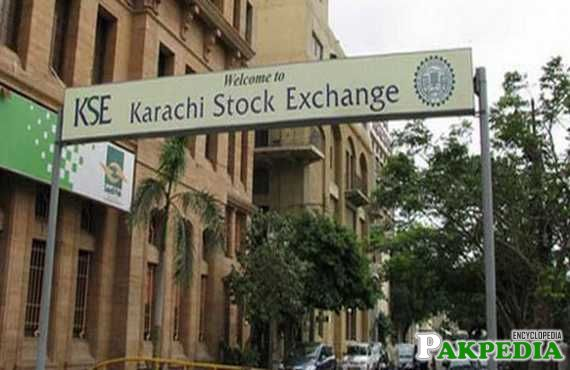 Pakistan Stock Exchange in Karachi