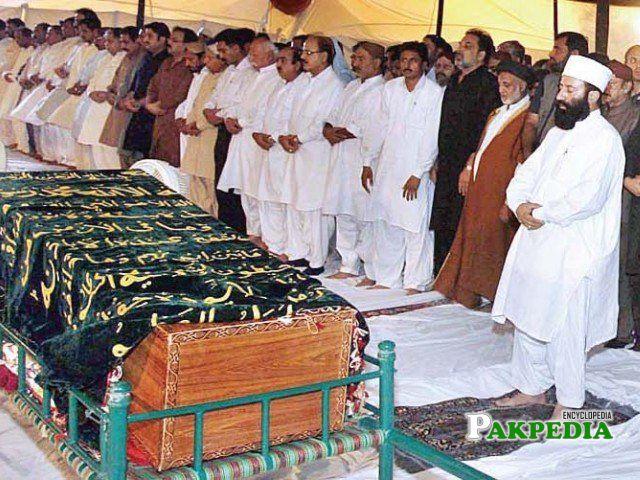 Funeral of Hakim Ali Zardari