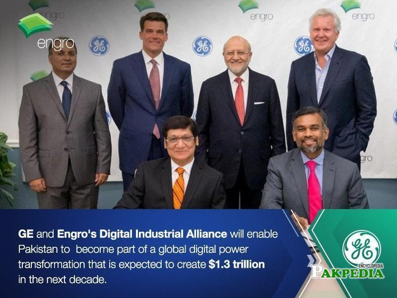 GE and engro's Alliance