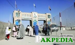 The Chaman border crossing is one of only two major crossing points along the disputed frontier