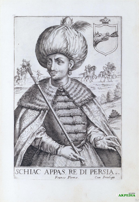 Persian Emperor Shah Abbas