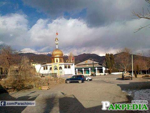 Mazar of Shaheed allama arif hussaini