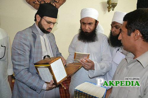 With Maulana Tariq Jameel