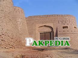 The gate of Derawar Fort