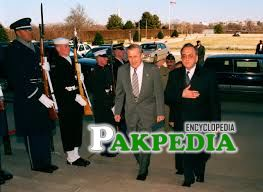 A Foreign visit of Khurshid Mahmood Kasuri