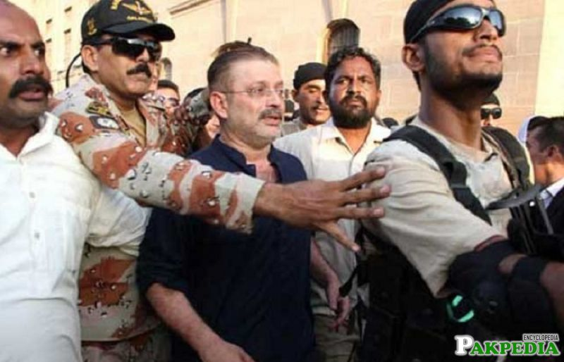 Sharjeel Inam Memon into NAB custody