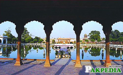 Architecture of Shalimar garden