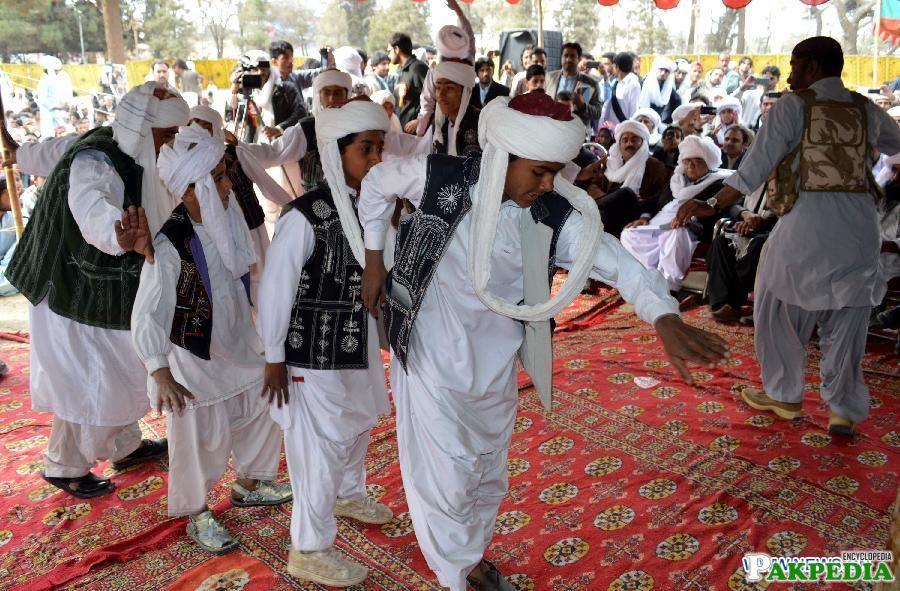 Pashtune culture group Dance