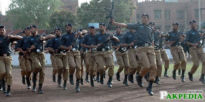 Punjab Police Praid