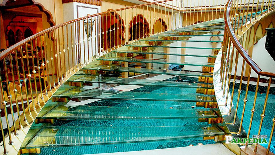 Staircase of avari hotel