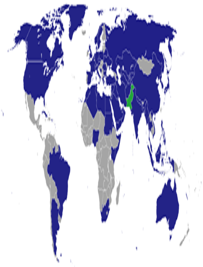 List of diplomatic missions in Pakistan