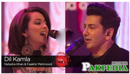 Faakhir Mehmood in Coke Studio