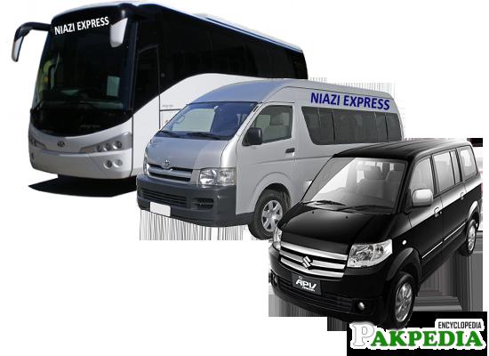 Mini Bus, Apv's, High-Roofs of Niazi Express