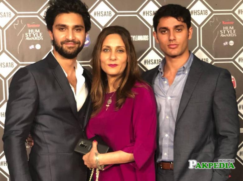 Ahad Raza Mir family