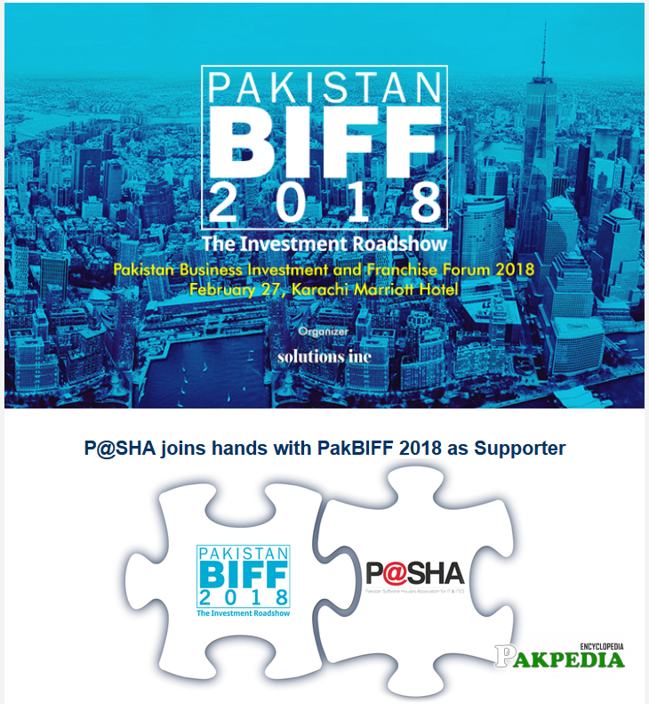 P@SHA Joins Hands With Pak BIFF 2018 As Supporter