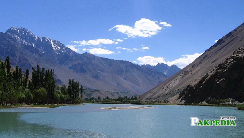 Chilas Lake