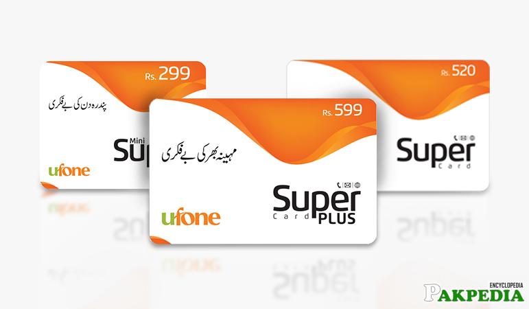 Ufone Super Cards