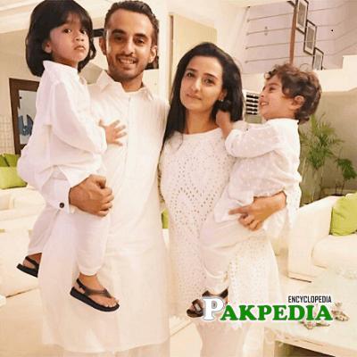Momal Sheikh family